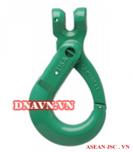Self-locking Clevis Hook